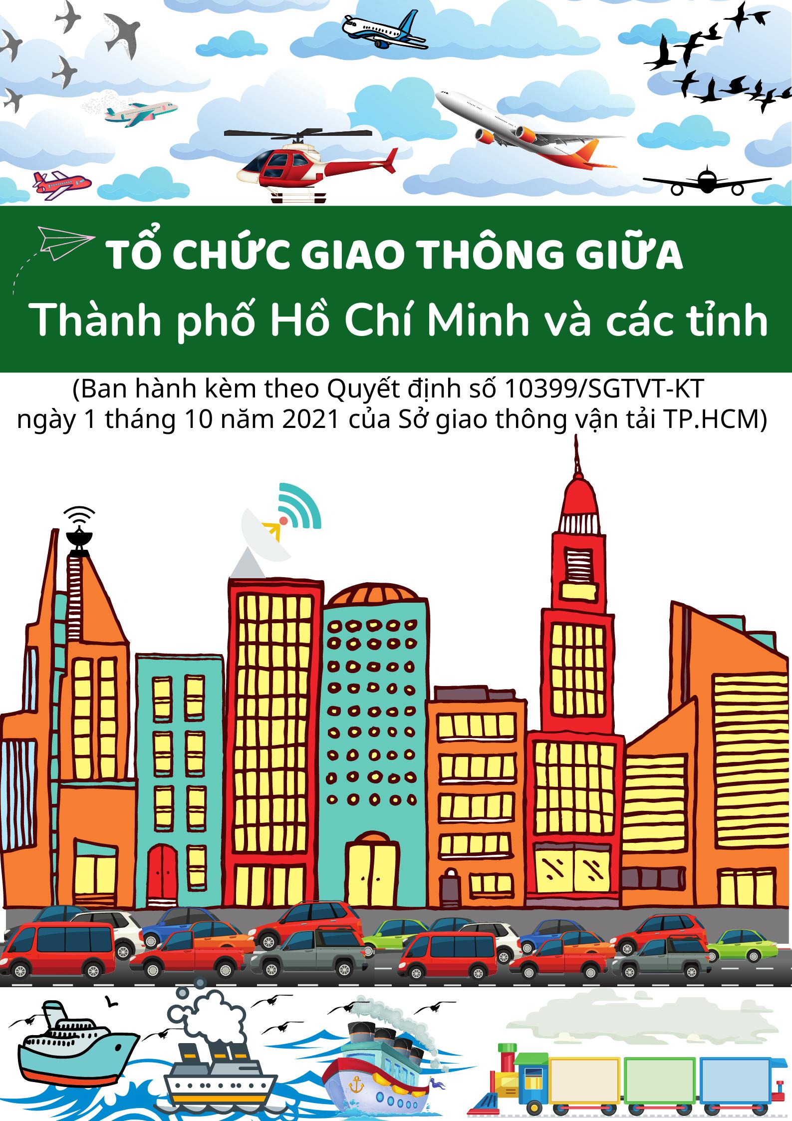 Hướng dẫn người dân từ TP.HCM đi các tỉnh/thành phố và ngược lại trong một số trường hợp cấp thiết
