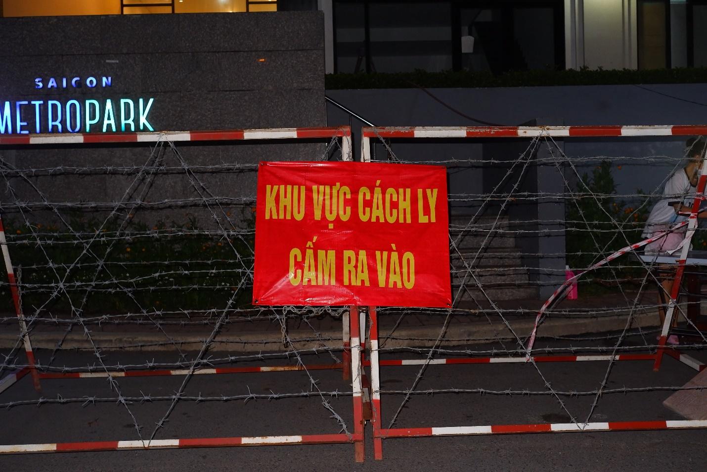 TP Thủ Đức phong tỏa chung cư Sài Gòn Metro Park do phát hiện 01 ca nhiễm  COVID-19